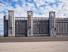 Port of Johnstown Grain Elevator (Richard Pilon) Tags: canada st river lawrence olympus stlawrenceriver portofjohnstown portofjohnstowngrainelevator