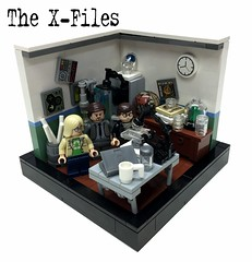 "The X-Files ""The Lone Gunmen"" - Part4 (markus19840420) Tags: lego contest vignette moc thexfiles thelonegunmen aktex serienjunkies imperiumdersteine"