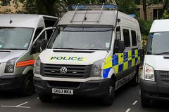 Kent Police Volkswagen Crafter Public Order Van (PFB-999) Tags: colour london public vw volkswagen kent support order pov police vehicle leds van grilles psu unit the tsg 2016 crafter trooping lightbars fendoffs gk63mka