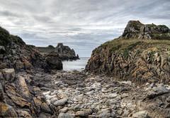 Looking towards Chateau L'Etoc on Alderney (neilalderney123) Tags: beach landscape olympus alderney omd letoc 2016neilhoward