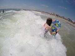 GOPR2481 (Tom Simpson) Tags: ocean beach maddie newjersey nj madeline jerseyshore boogieboard avonbythesea