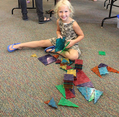 Georgetown Family Fun Day June 20, 2016 - Build it High, Build it Tall (ACPL) Tags: georgetown geo fortwaynein acpl familyfunnight allencountypubliclibrary