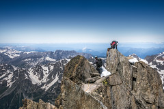 """(Isat"""") Tags: france alps alpes alpinisme montagne mountain moutains montblanc paysage panorama landscape chamonix argentire aiguille verte"""