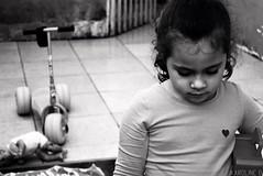 What to do?! (Karoline Bastos) Tags: girls light brazil portrait blackandwhite bw baby black girl beauty face kids dark hair children photo blackwhite kid amazing nikon toddler pretty alone child play close darkness natural emotion sweet pb babygirl littlegirl garota lonely feeling playtime menina littleprincess pretoebranco cutebaby darkphotography mistery garotinha childphotography 5yearsold kidphotography braziliangirl sweetthings nikonworld nikonphotography brazilianchild outcolor effyb