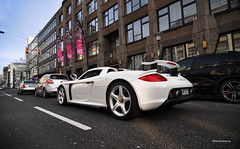 CGT (Willem Rodenburg) Tags: white photoshop silver germany nikon wheels ko porsche gt dusseldorf supercar whiteonwhite v10 willem carrera 1224 d90 cs5 hypercar rodenburg