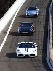 Follow the leader... (Philippe Collinet Photography) Tags: white canon photography is track automotive ferrari turbo porsche 7d 28 usm circuit spa wit weiss rs blanc 70200 scuderia f28 philippe 2012 f430 430 trackday gt3 70200mm 997 francorchamps scud spafrancorchamps porscheturbo gt3rs rennsport collinet worldcars porschegt3rs ferrari430scuderia canoneos7d lserie 510bhp 510pk canonef70200lf28isusm 510ps wwwphilippecollinetbe bookatrackcouk