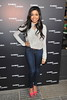 Dionne Bromfield Casio - pop-up store launch party at Covent Garden - Arrivals. London, England