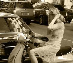 N.Y. Girl (Kaare D) Tags: new york candid alwaysexc sepiaedition