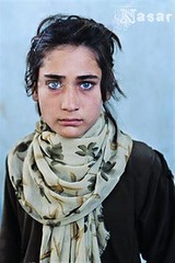 Afghan Girl - Blue Eyes (PAKHTUN) Tags: blue afghanistan eye lady female afghan pathan afghangirl pakhtun pashtun pashton pushtun pukhtun kanduz