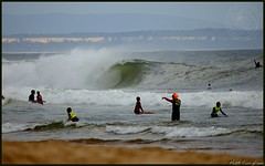 (yogasurf) Tags: ocean beach portugal surf waves yogasurf mattcorigliano