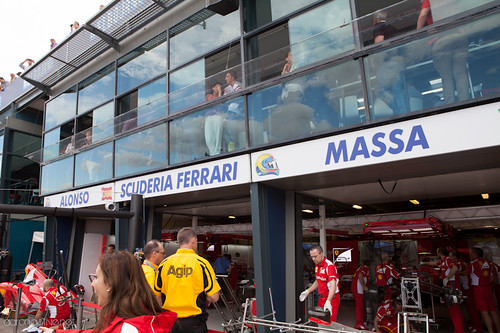 Ferrari Pit Tour