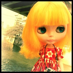 I went to the river. #blythe