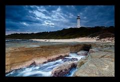 """Norah-Head-Lighthouse"" (Kiall Frost) Tags: ocean lighthouse beach water sunrise coast rocks head central australia frosty nsw centralcoast norah kiallfrost"