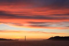 IMG_2385 (commishkorey) Tags: bridge sunset beautiful goldengatebridge stunning orangesky alcatraz eveningsky breathtaking sfbay goldengatebridgesunset sfbridge alcatrazsunset alcatraznighttour ggnpc11