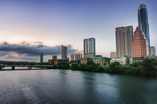 South First Street Bridge and Lady Bird by Katie Haugland, on Flickr