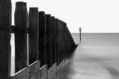 into nowhere! (keith portlock) Tags: longexposure bw water canon sticks seascapes filters dawlish eos60d ndxfilters