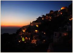 Almost fake (teoperis) Tags: sunset summer santorini greece oia σαντορινη