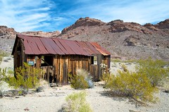 Tin Roof Rusted ( RedLoop ) Tags: old blue red cactus brown house mountains building green rot texture love rust desert decay nevada rusty nelson shack crusty creosote tinroofrusted redloop