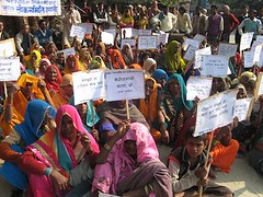 Dalit women unite to condemn unemployment