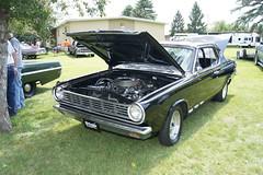 65 Dodge Dart GT (DVS1mn) Tags: park county minnesota fairgrounds big midwest head five block hemi mopar six mn dakota slant wedge sixty nineteen 65 1965 mopars pentastar nineteensixtyfive