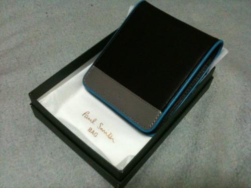 新しい財布(ポールスミス)