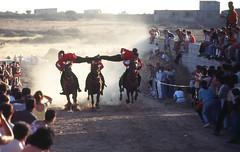 Pferderennen Sedilo Sardinien