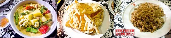 Seasons of India Paneer Set at Bliss Cafe
