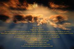 Evangelio segn San Juan 17,11b-19. Obra Padre Cotallo