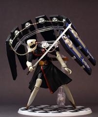 Thanatos (GogDog) Tags: persona death action figure darts smt bandai p3 thanatos persona3 shinmegamitensei