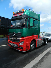 new merc actros mp4 6x2 m and m geene (m11 erf) Tags: new truck wagon lorry brand mp4 merc actros