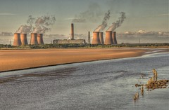 Eight Towers (Keo6) Tags: ferry river mersey fiddlers blinkagain