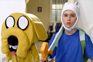 Adventure Time探險活寶真人版宣傳短片