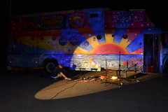 Magic Love Bus - Journey 2012 - Lake Mead_LP 2012-05-19 015 (Love_Haight) Tags: music bus travelling love hippies freedom peace singing dancing nevada lakemead drumming lovevolution magiclovebustour