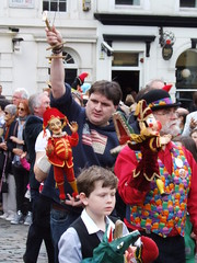 March of the Professors (failing_angel) Tags: london puppet coventgarden punch professor professors marionette pulcinella mrpunch punchjudy cityofwestminster 120512 punchinello