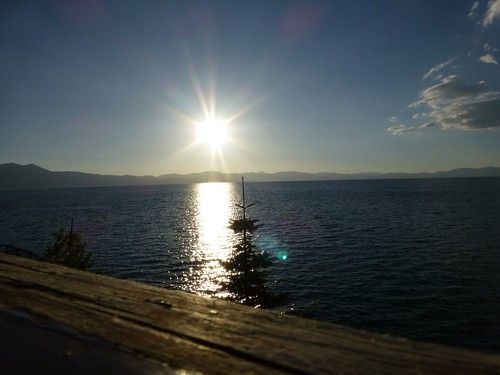 Eclipse Anular desde Lake Tahoe, Nevada