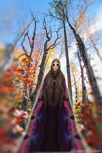 LARRY CARLSON, Naysa in November, c-print, 24x26in., 2012