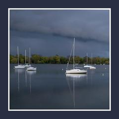 bateaux (rogermarcel) Tags: storm river landscape boat rivire bateau paysage orage waterscape mygearandme mygearandmepremium