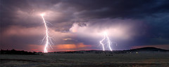 Lightning Over Dookie (Andrew Fleming Photography) Tags: sunset storm night australia andrew victoria hills dookie plasma lightning fleming andrewfleming goulburnvalley centralvictoria mountsaddleback greatershepparton mygearandme mygearandmepremium mygearandmebronze mygearandmesilver mygearandmegold mygearandmeplatinum mygearandmediamond