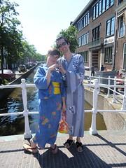 Japanese Market Leiden 2012 (Saiya-chan) Tags: holland netherlands leiden nederland yukata kimono markt oranda japanse sieboldhuis siebold japanmarkt kimonodejacknl japanesemarketleiden