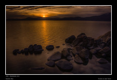 Sunset at Lake Tahoe (karjul) Tags: california usa lake reflection water stone see nikon rocks wasser nevada laketahoe steine april sierranevada amerika hdr 2012 reflektion kalifornien ort felsen d90 nordamerika sunsetsonnenuntergang mygearandme mygearandmepremium mygearandmebronze mygearandmesilver ringexcellence dblringexcellence flickrstruereflection1 flickrstruereflection2 flickrstruereflection3 newwashoestadt soulocreativity3 soulocreativity4