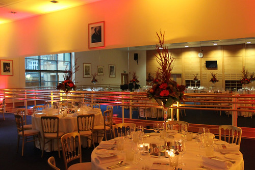 A corporate event at The Royal Ballet School © ROH 2012