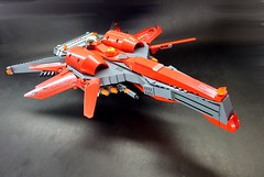 L1 - Commander (5) (SuperHardcoreDave) Tags: fighter lego tech future scifi spaceship weapons starship moc starfighter spacefighter