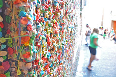 Gum wall by Zorlone, on Flickr