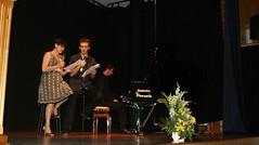 Recital poético con Isabel Belmonte al piano con Alberto Gutierrez en Alhaurín de la Torre (Málaga)