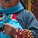 Mujer con perlas