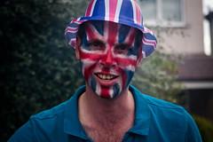 diamond  jubilee celebrations  street party East Barnet (silvertony45) Tags: street portrait england man london face jubilee streetphotography streetportrait unionjack silverjubilee londonist thestreet eastbarnet silvertony45 queenssilverjubilee2012