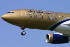 Gulf Air - A9C-KC (Andrew_Simpson) Tags: bahrain gulf heathrow 330 landing airbus arrive arrival lhr heathrowairport arriving gulfair londonheathrow a330200 egll londonheathrowairport a9ckc fwwkl a330330200