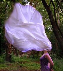 Breathe (3/100) (Ellieboat) Tags: wood trees white girl breathe texturebybrookeshaden