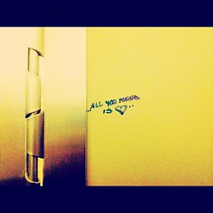 Stall (colemoon) Tags: inspiration love heart bathroomstall hownice allyouneed