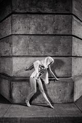 R2D2 (LukeOlsen) Tags: usa stone oregon portland concrete pillar r2d2 swimsuit pw strobist lukeolsen pdxstrobist wl1600